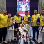 Маріупольські каратисти взяли на чемпіонаті світу дев'ять медалей