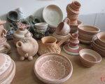 Глинотерапія допомагає дітям повірити в себе. городок, адаптація, глинотерапія, суспільство, інвалідність, vase, tableware, coffee cup, saucer, ceramic, pottery, earthenware, teapot, porcelain, bowl. A cup of coffee on a table