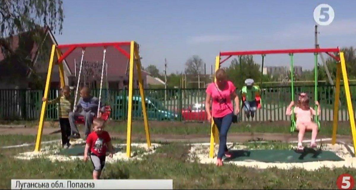 Не війною єдиною: активісти з Попасної узялися обладнати ігровий майданчик для дітей з інвалідністю