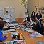 Світлина. Людей с инвалидностью учат шить модную одежду. Новини, инвалидность, Мелітополь, обучение, самозанятость, проект Шитье без ограничений