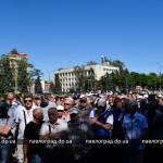 В Павлограде на акцию протеста вышло 640 шахтеров-регрессников (ФОТО и ВИДЕО)