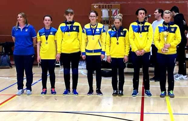 Національна паралімпійська збірна команда з голболу (жінки) стала першою на міжнародному турнірі