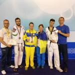 На міжнародному турнірі з тхеквондо паралімпійці України вибороли 4 медалі