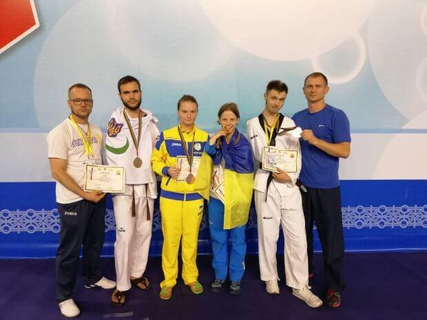 На міжнародному турнірі з тхеквондо паралімпійці України вибороли 4 медалі. міжнародний турнір, паралимпиец, паралімпійська збірна, спортсмен, тхеквондо