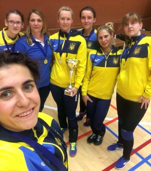 Національна паралімпійська збірна команда з голболу (жінки) стала першою на міжнародному турнірі. голбол, змагання, незрячий, паралімпійська збірна, турнір