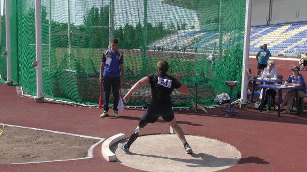 У Бахмуті відбувся Кубок України з легкоатлетичних метань серед спортсменів з інвалідністю. бахмут, кубок україни, легкоатлетичні метання, спортсмен, інвалідність