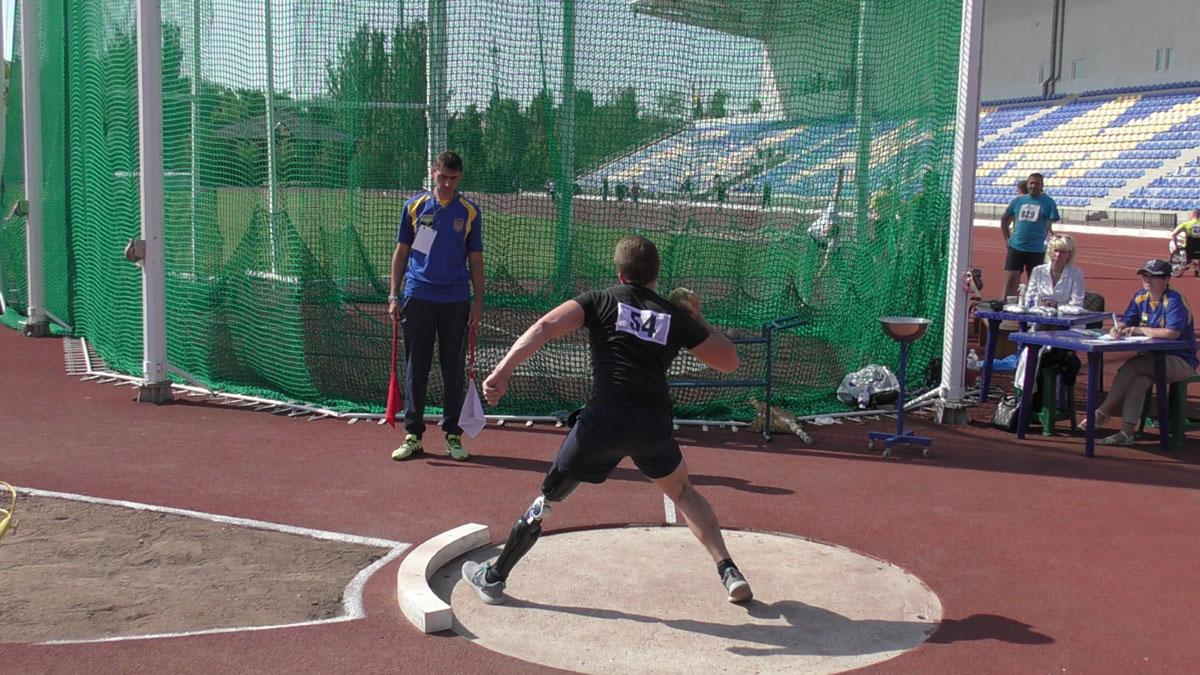 У Бахмуті відбувся Кубок України з легкоатлетичних метань серед спортсменів з інвалідністю (ФОТО)