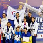 З відритого чемпіонату Європи українські паратхеквондисти повернулись з двома кубками та 7 медалями