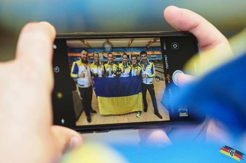 Дефлімпійська збірна команда з боулінгу повернулась з чемпіонату Європи з боулінгу з 15 медалями