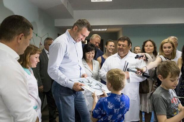 Кличко: Ми відкрили унікальне відділення санаторно-курортного лікування для дітей з обмеженими можливостями. пуща-водиця, адаптація, лікування, санаторій, інвалідність