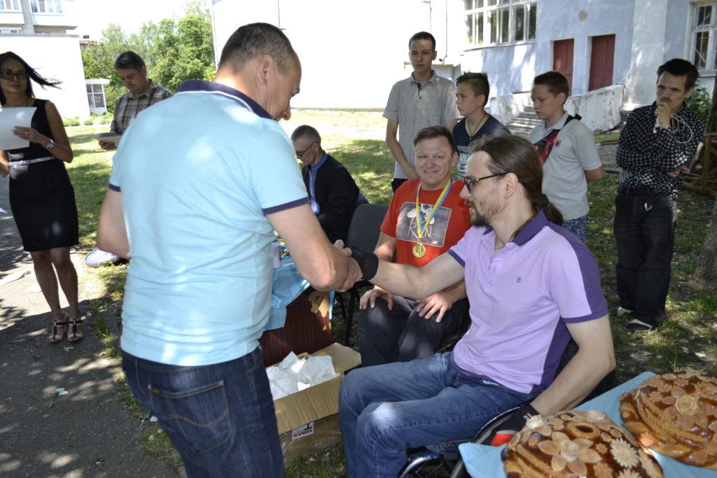 Спортсмен-візочник з Конотопа виступив на міжнародному турнірі (ФОТО)