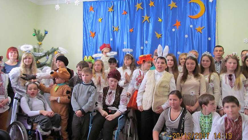 Золочівський районний центр соціальної реабілітації дітей-інвалідів проводить набір