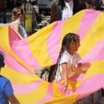 Світлина. Пісні, танці й поліцейська машина: в Києві влаштували фестиваль для дітей із інвалідністю. Новини, інвалідність, Київ, фестиваль, інклюзивність, спілкування