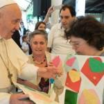 Несподіваний візит Папи до фундації, що опікується особами з інвалідністю