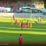 Національна дефлімпійська збірна команда з футболу розгромила команду Данії