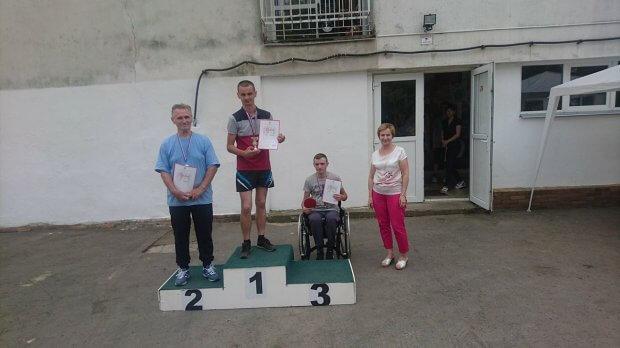 Команда спортсменів-інвалідів перемогла на міжнародному турнірі в Словаччині. словаччина, змагання, команда, спортсмен-інвалід, турнір