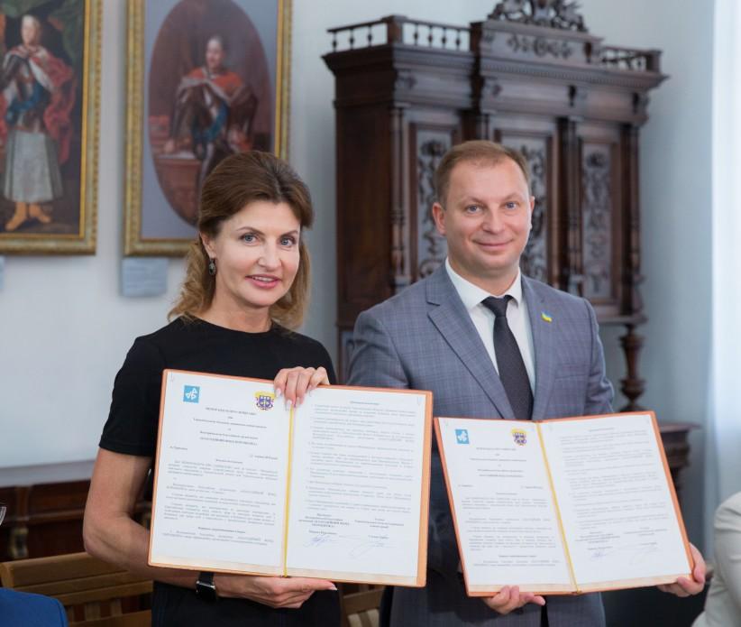 Тернопільська область долучилася до проекту Марини Порошенко по впровадженню інклюзивної освіти