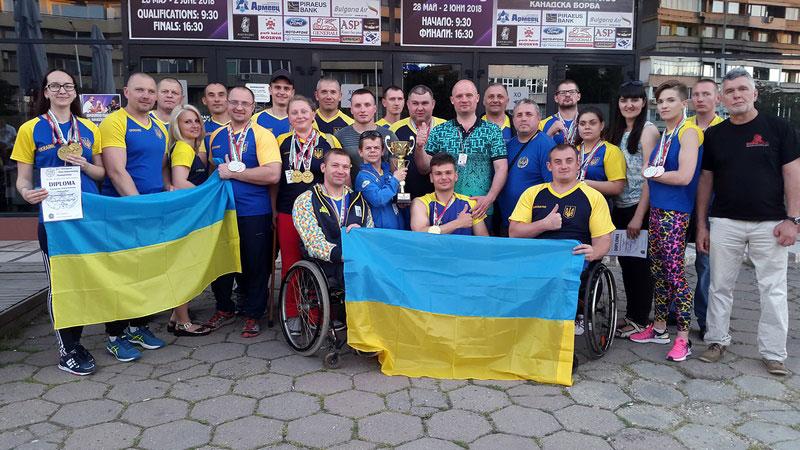 21 медаль вибороли на чемпіонаті Європи спортсмени з інвалідністю у армспорті