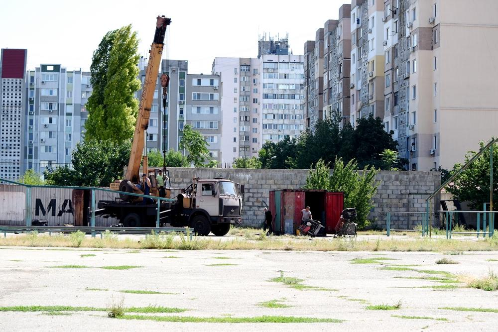 В Южному почали будівництво реабілітаційного центру для інвалідів (ФОТО)