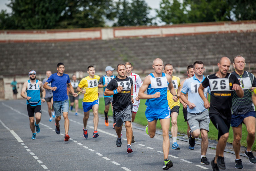 Завершився відбір спортсменів для участі у 43-му марафоні морської піхоти США (ФОТО)