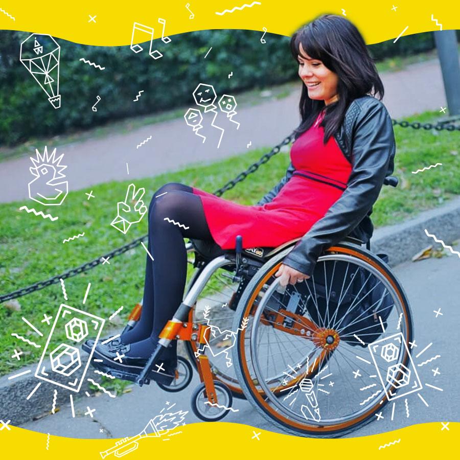 Інклюзивність та екологічність – головні соціальні напрями Atlas Weekend 2018. atlas weekend, київ, доступність, фестиваль, інклюзивність, bicycle wheel, wheel, land vehicle, sports equipment, bike, vehicle, posing, bicycle. A person sitting on a bicycle