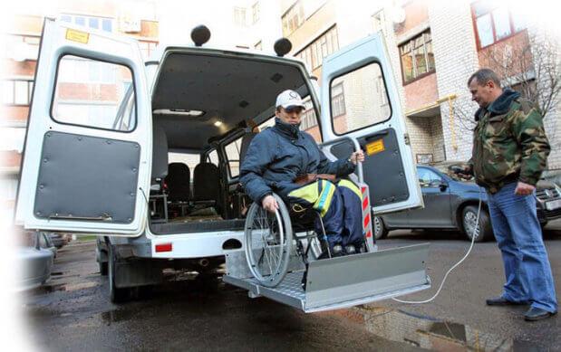 Социальное такси в Мелитополе делает первые шаги. мелітополь, инвалидность, поездка, проект, социальное такси