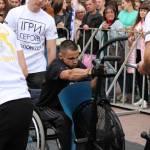 Світлина. У Львові відбулися змагання для ветеранів війни та людей з інвалідністю «Ігри героїв». Спорт, інвалідність, змагання, Львів, ветеран, Ігри героїв
