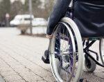 В Дружковке утвердили программу по улучшению условий для людей с инвалидностью. дружковка, доступность, инвалидность, программа, сессия, ground, outdoor, bicycle, wheel, bicycle wheel, tire, land vehicle, sidewalk, vehicle, parked. A bicycle parked on a sidewalk