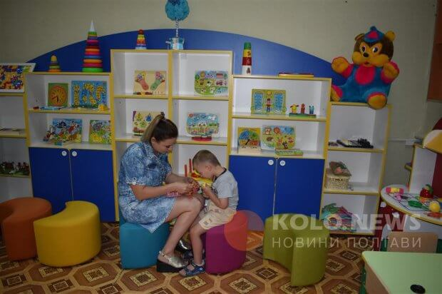 На Полтавщині безкоштовно надають послуги психолога та логопеда – запрацював перший відкритий ІРЦ області. ірц, нові санжари, заняття, суспільство, інвалідність