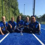 Національна паралімпійська жіноча збірна команда з голболу стала першою на міжнародному турнірі