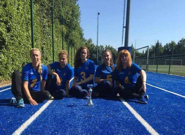 Національна паралімпійська жіноча збірна команда з голболу стала першою на міжнародному турнірі ГОЛБОЛ ЗМАГАННЯ КОМАНДА ПОРУШЕННЯ ЗОРУ ТУРНІР