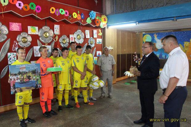 Команда «Стрижавського дитячого будинку-інтернату» здобула 1 місце у фіналі Міжнародної Футбольної Ліги для осіб з інвалідністю Seni Cup 2018. seni cup, стрижавський дитячий будинок-інтернат, перемога, футбол, інвалідність