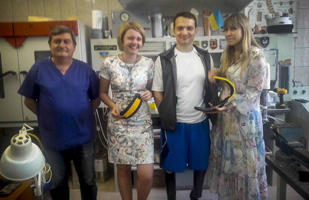 Українські протезисти освоюють новітні технології із виготовлення високоякісних спортивних протезів для учасників АТО на семінарах за підтримки НАТО