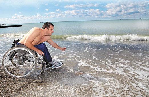 В Одессе доработали проект пляжа для людей с инвалидностью на 11-й станции Большого Фонтана