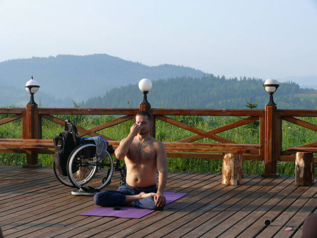 """Валерій Сушкевич: """"Нам не потрібні об'єкти виключно для людей з інвалідністю. І спортивні об'єкти, і об'єкти інфраструктури мають бути доступні для всіх"""". валерій сушкевич, паралимпиада, паралимпиец, спортсмен, інвалідність"""