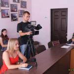Світлина. На Вінниччині впроваджується проект щодо захисту прав та поліпшення якості життя людей з інвалідністю. Закони та права, інвалідність, суспільство, проект, Вінниччина, прес-конференція