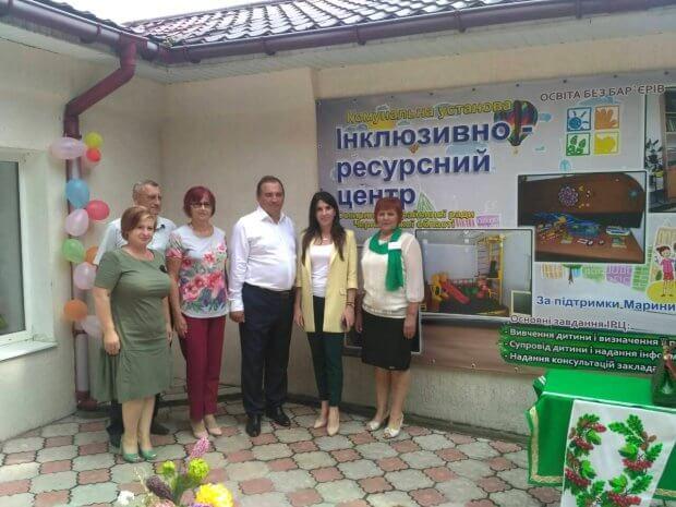 Відкрито перший інклюзивно-ресурсний центр в Чернівецькій області. ірц, сокиряни, дефектолог, логопед, психолог