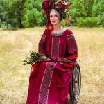 Командир «Госпитальеров» Яна Зинкевич снялась для проекта «Вишивка і вишиванка»