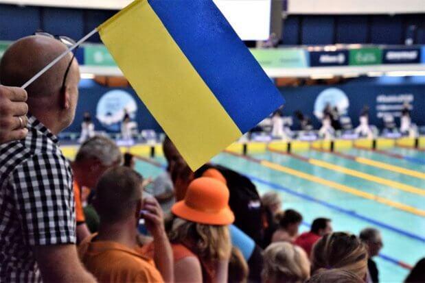 Національна паралімпійська збірна команда з плавання – перша в Європі. змагання, паралімпійська збірна, плавання, спортсмен, чемпіонат європи
