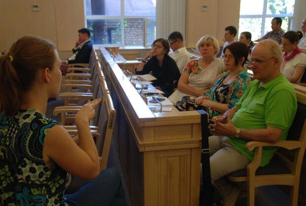 У КАС ВС обговорювали питання безбар'єрного доступу до правосуддя особам з інвалідністю. кас вс, доступність, правосуддя, семінар-тренінг, інвалідність