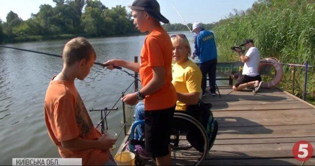 Рибалка на візках: у Києві провели особливий чемпіонат із риболовлі. київ, змагання, риболовля, чемпіонат, інвалідність