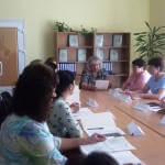 Світлина. Професійна реабілітація: у Знам'янці обговорювали шляхи підвищення конкурентоспроможності людей з інвалідністю. Робота, інвалідність, працевлаштування, служба зайнятості, круглий стіл, Знам'янка