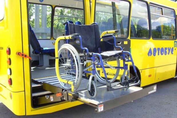 Об'єкти транспортної інфраструктури пристосовують для забезпечення безбар'єрного доступу маломобільних груп. запорізька область, доступність, забезпечення, інвалідність, інфраструктура
