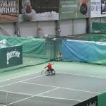 Світлина. Українка Олена Шингарьова посіла друге місце на тенісному турнірі серії «Фьючєрс» серед спортсменів-візочників «Vilnius Open 2018». Спорт, турнір, теніс, Олена Шингарьова, спортсмен-візочник, Vilnius Open 2018