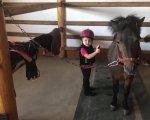 Іпотерапія: як коні лікують тіло і заспокоюють душу людей (ФОТО, ВІДЕО). заняття, корекція, кінь, лікування, іпотерапія, animal, floor, halter, person, bridle, mule, horse tack, horse supplies, clothing, mare. A person sitting on a horse