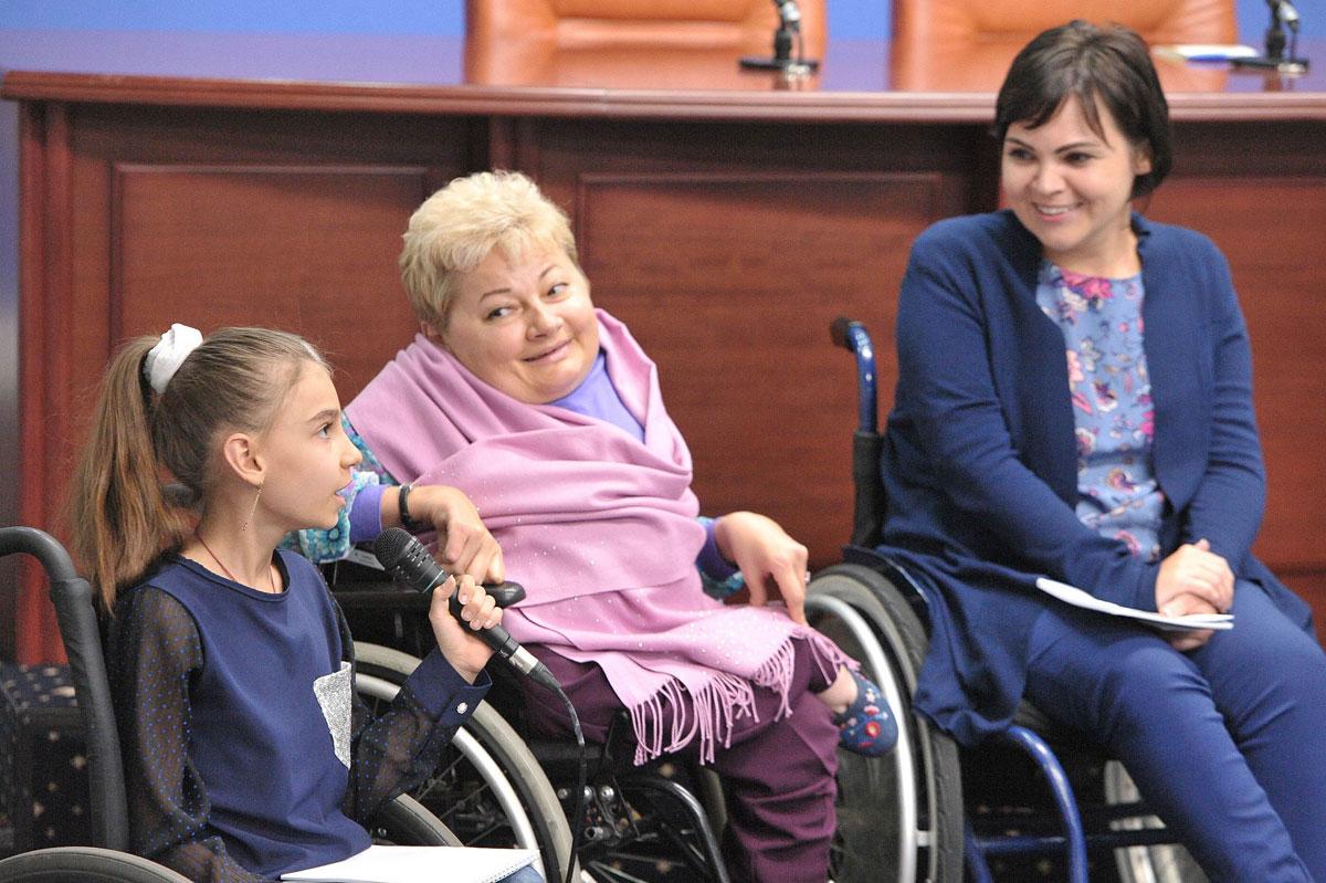 Урядовою уповноваженою з прав осіб з інвалідністю було представлено початок проекту «Дитляндія»