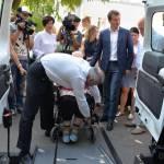 Світлина. У Чернігові запрацює соціальне таксі. Безбар'ерність, інвалідність, соціальне таксі, перевезення, Чернігів, автотранспорт