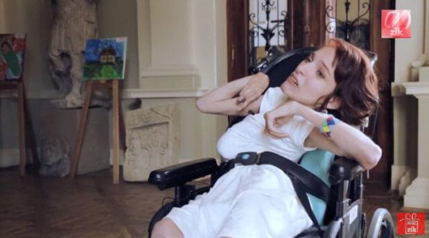 Оля Драган: Від самого дитинства я знала, що не така, як всі. дцп, оля драган, талант, хвороба, інвалідний візок