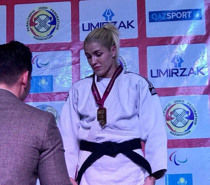 Запорожанка завоевала золото на кубке Мира по парадзюдо (ФОТО)