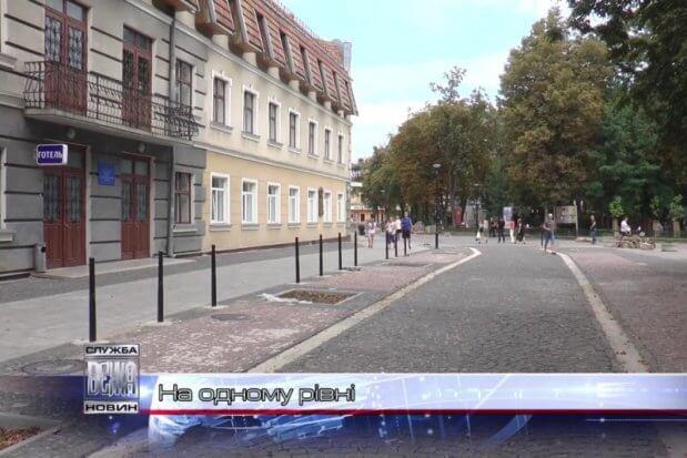 Комунальники розповіли про заходи доступності в Івано-Франківську. івано-франківськ, візочник, доступність, комунальники, інвалідність
